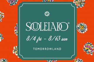 8/4fri~8/13sun  SOULEIADO POP UP STORE