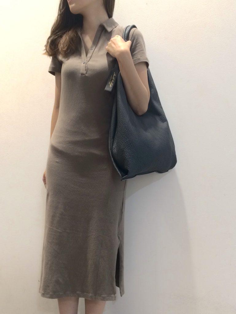 ワンピース¥31.000+tax バッグ¥19.000+tax(ANITA BILARDI)