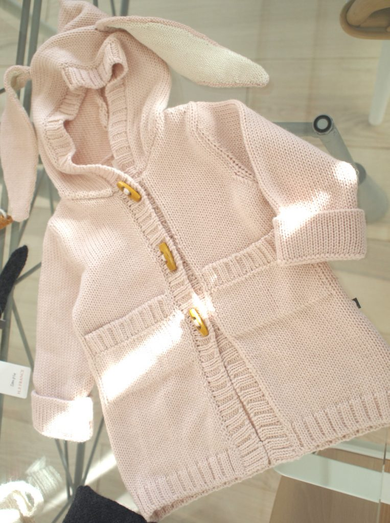 キッズニット¥23,000+tax/Bunny Toggie Sweater