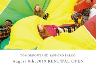 2019.8.8(thu) TOMORROWLAND 札幌パルコ店 RENEWAL OPEN