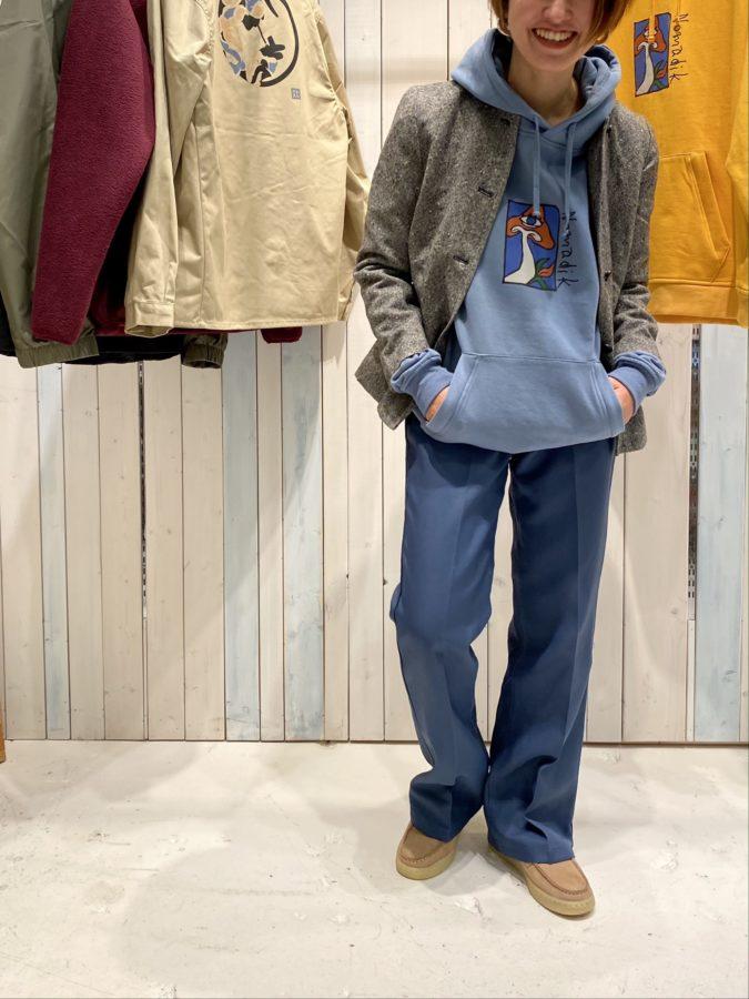 parka ¥11,000+tax/NOMADIK